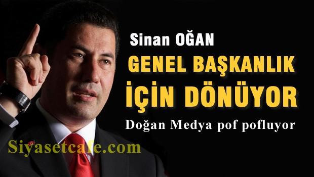 MHP'den ihraç edilen Sinan Oğan, Genel Başkanlık için dönüyor
