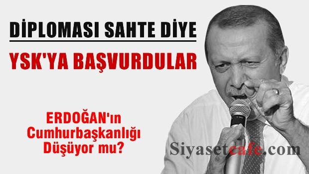 Erdoğan'ın Cumhurbaşkanlığı düşüyor mu?