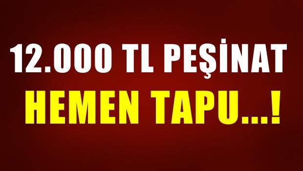 12.000 TL PE��NAT, HEMEN TAPU..!