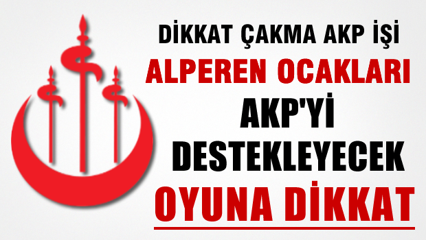 Alperen Ocaklar� Derne�i 1 Kas�m'da AKP�yi Destekleyeceklerini a��klad�