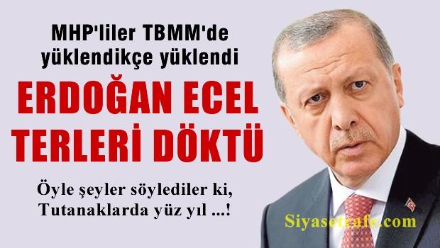 MHP'liler TBMM'de Erdo�an'a ecel terleri d�kt�rd�