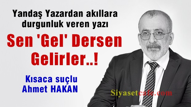 Ahmet Keke� su�u Ahmet Hakan'da buldu