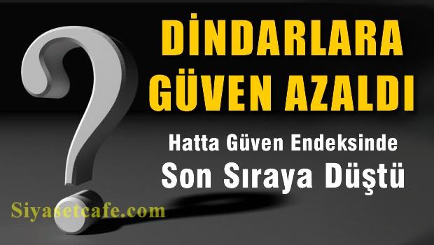 Dindar AKP �ktidar�nda, Dindar Politikac�lara g�ven azald�