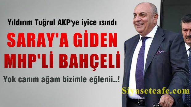 T�rke� Saray'a giden MHP'liyi a��klad�