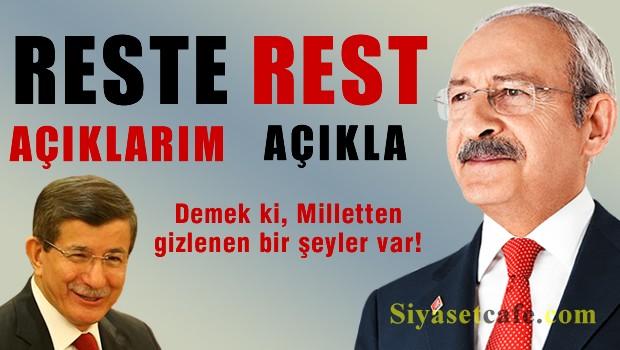 AKP ve CHP'nin 'Açıklarım-Açıkla' kavgası devam ediyor