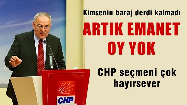 CHP'nin parti sözcüsünden emanet oy uyarısı