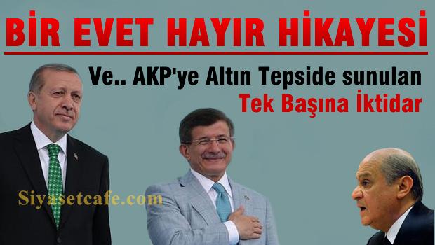Bir 'Evet-Hatır' hikayesi ve AKP'ye Altın tepside sunulan tek başına iktidar