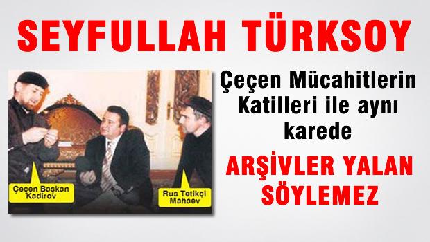 Seyfullah T�rksoy �e�en m�cahitlerinin katilleri ile ayn� karede