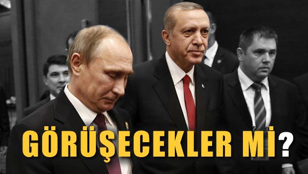 Erdo�an ve Putin bug�n g�r��ecek mi?