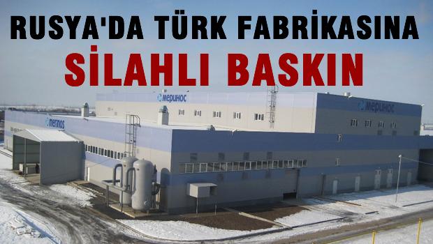 Rusya'da Türk halı fabrikasına silahlı, kar maskeli baskın