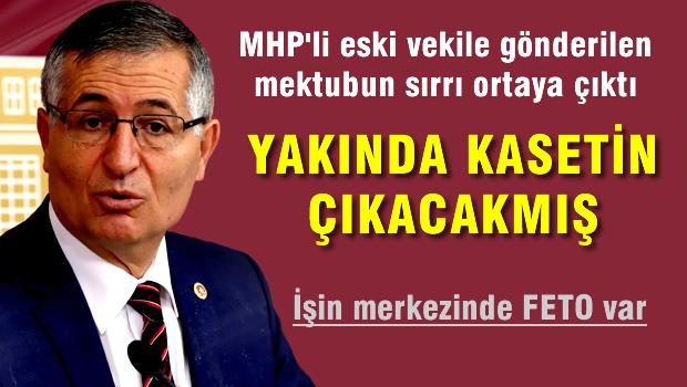 MHP'li Özcan Yeniçeri'ye çirkin kaset şantajı