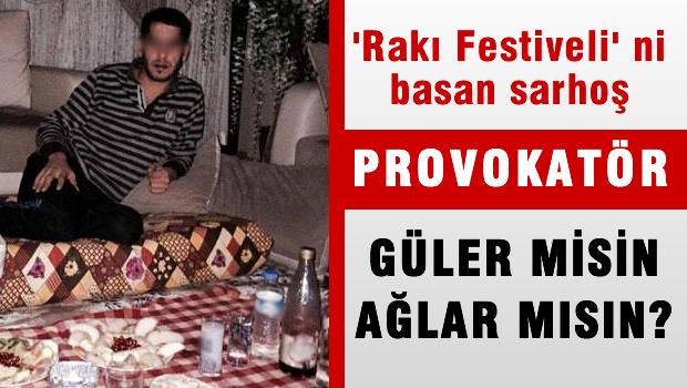 Kebap Festivali baskıncıları içki fotoğrafları paylaşmış