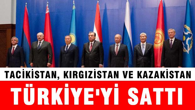 Kazakistan ,Tacikistan, Kırgızistan 'Moskova Arkandayız'