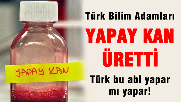 Laboratuvar ortamında, bitkilerden yapay kan üretildi 34820