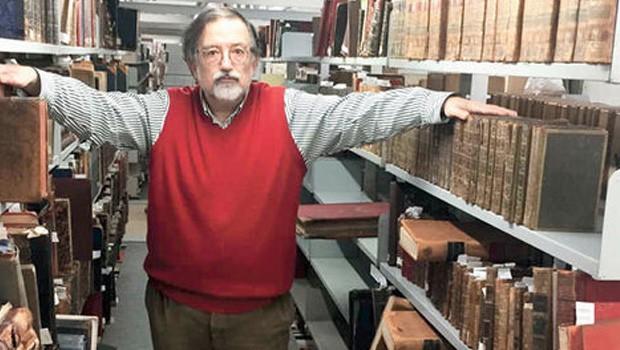 Abdülhamid'in kütüphanesi çöpe atıldı