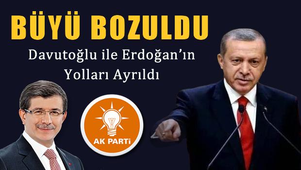 Davutoğlu ile Erdoğan'ın yolları ayrıldı