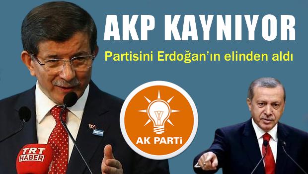AKP Kayn�yor, AKP Erdo�an'�n kontrol�nden ��kt�
