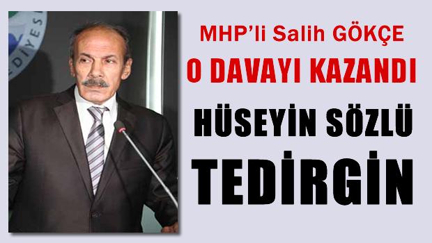 MHP'li Salih G�K�E Hukuk Sava��n� Kazand� S�zl� tedirgin