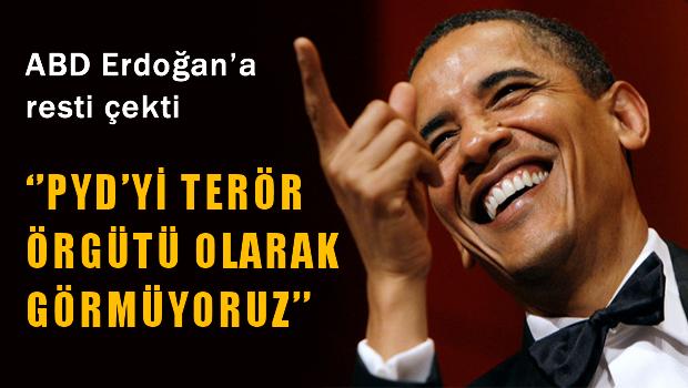 ABD, Erdoğan'a Resti Çekti: 'YPG'yi Terör Örgütü Olarak Görmüyoruz'