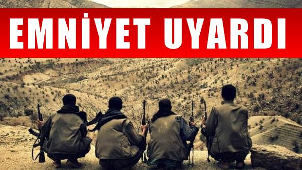 Emniyet uyard� 'PKK istihbarat kurdu'