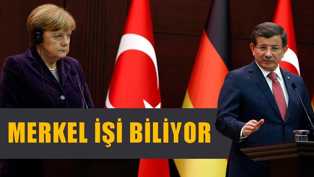 Merkel i�ini biliyor