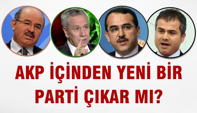 AKP ��inden Yeni Bir Parti Do�ar m�?