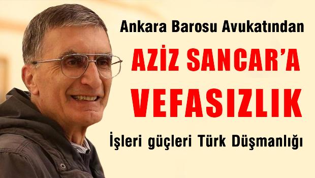 Nobel �d�ll� Aziz Sancar�a yap�lan jest mahkemelik