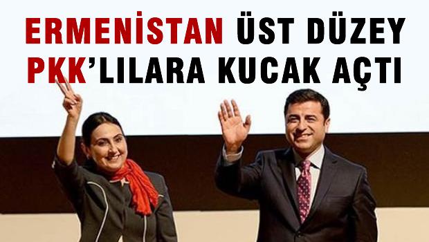 Ermenistan �st d�zey PKK'l�lara kucak a�t�