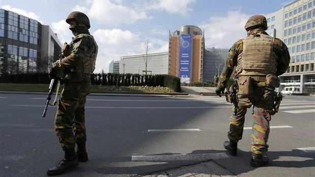 Brüksel'de Türk mahallesine baskın