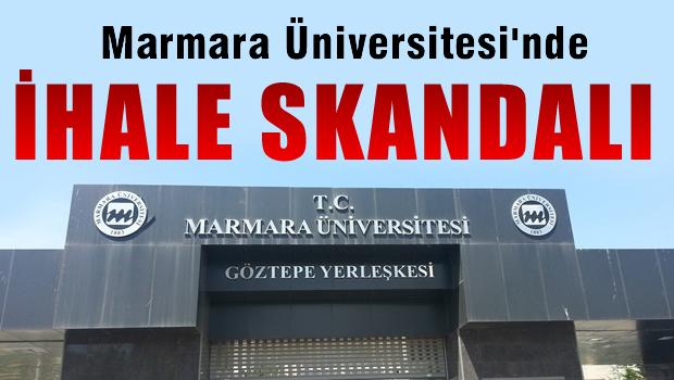 Marmara Üniversitesinde İhale Skandalı