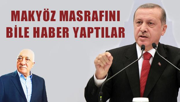 Erdoğan'ın makyöz masrafı 1903 TL