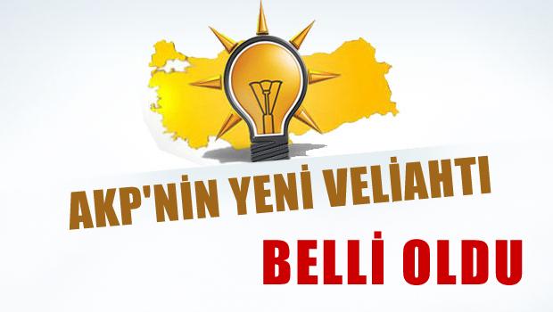 'AKP'nin yeni veliahtı belli oldu'