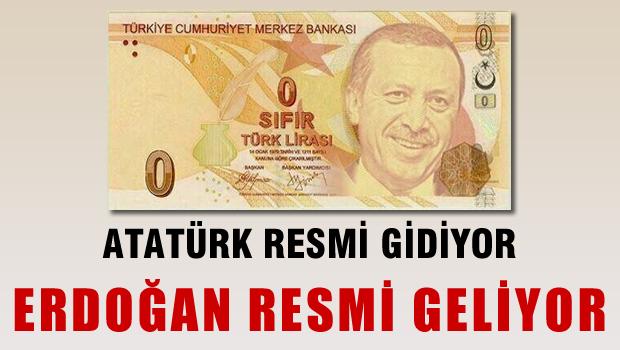 Yeni banknotlarda Erdoğan resmi mi olacak?