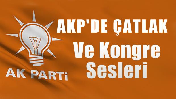 AKP'de olağanüstü kongre sesleri