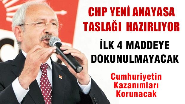 CHP'den Anayasa taslağı hamlesi
