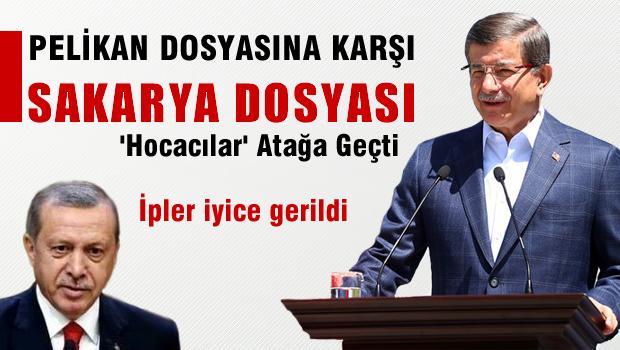 AKP'de Taktik Savaşları, Pelikan Dosyası'na karşı Sakarya Dosyası