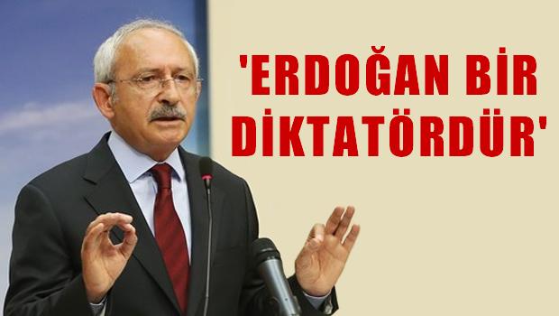 Kılıçdaroğlu Alman Bild'e konuştu: Erdoğan bir diktatördür!