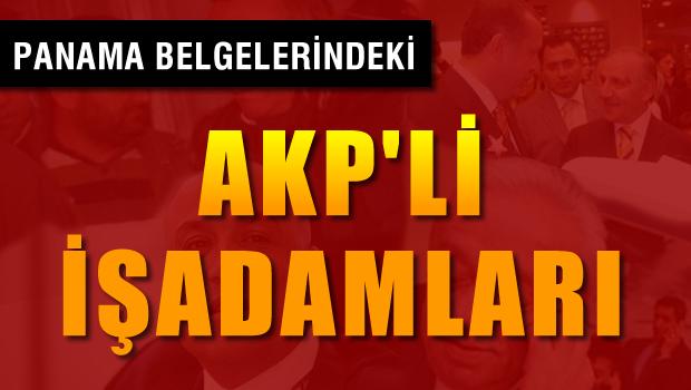 Panama Skandalı'ndaki AKP'li İş Adamları