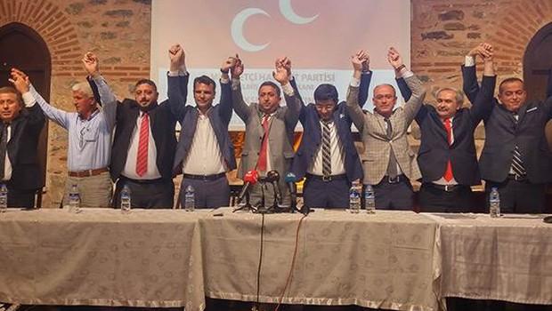 MHP İl Teşkilatı istifa etti