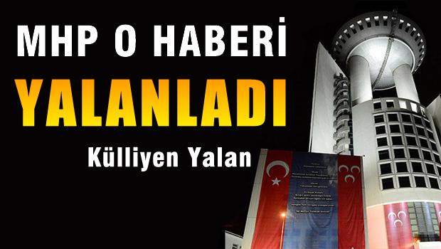'Kongre dosyası AYM'de' haberine MHP'den yalanlama
