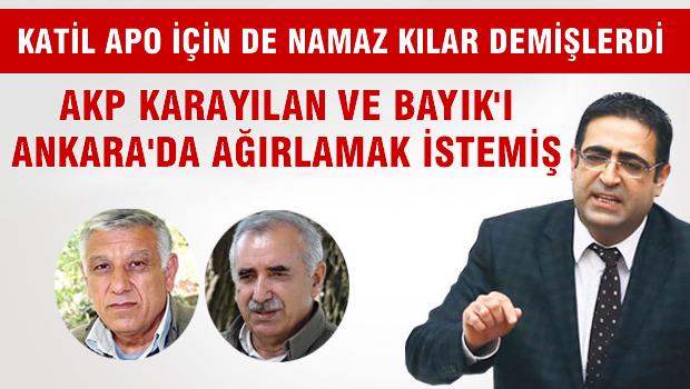 İdris Baluken: Bayık ve Karayılan'ı Ankara'da ağırlamak isteyen AKP'lileri açıklayacağız