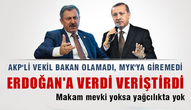 AKP'li vekilden Erdo�an'a a��r s�zler
