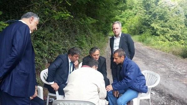 Madenci eylemini Erkan Haberal bitirdi