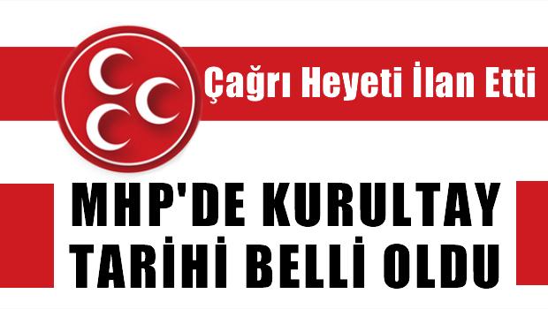MHP'de Kurultay Tarihi Resmen Belli Oldu