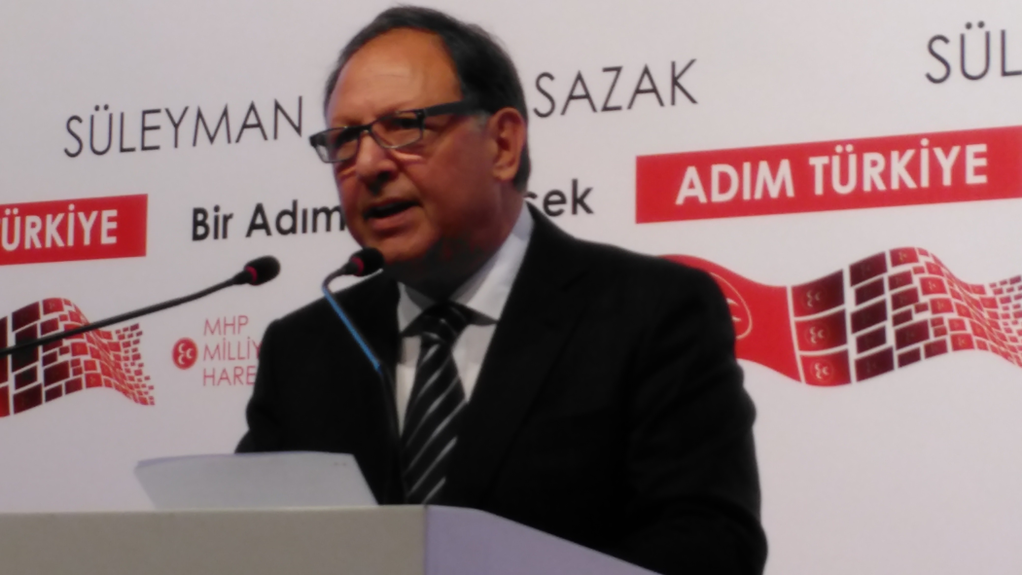 Sazak MHP Genel Başkan Adayı