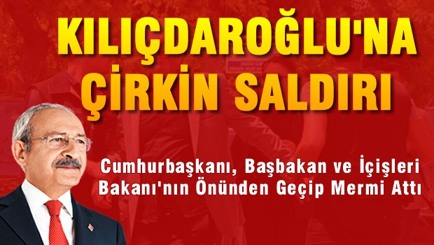 İşte Kılıçdaroğlu'na kurşunu atan provokatör!