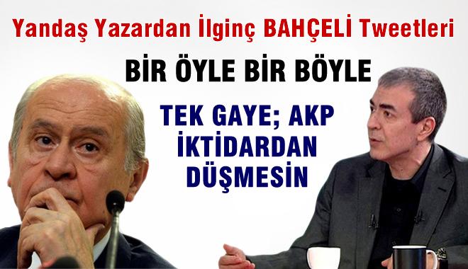 Havuzcu Cemil Barlas'tan MHP ve Bahçeli Hakkında Şok Tweetler!