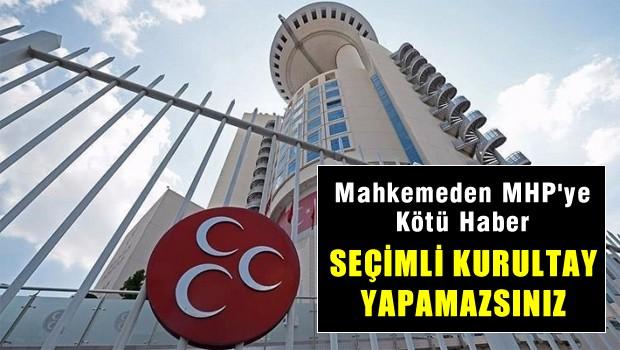 Çankaya İlçe Seçim Kurulu: 10 Temmuz'da MHP seçimli kurultayı yapılamaz
