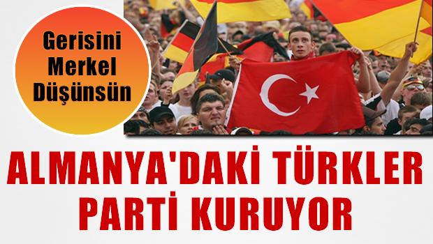 Almanya'daki Türkler parti kuruyor