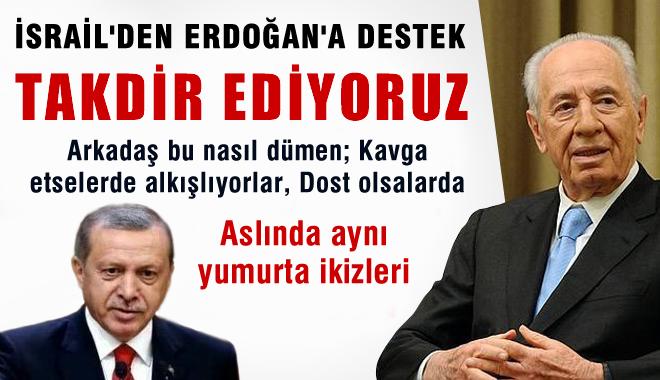 Şimon Peres, Erdoğan'ı Takdir Etti: IHH ile İlgili Sözlerini Takdirle Karşıladım